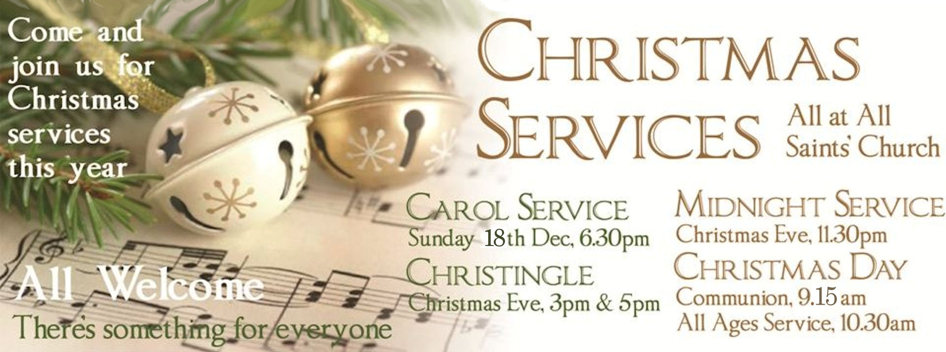 Christmas Services at All Saints', Binfield
