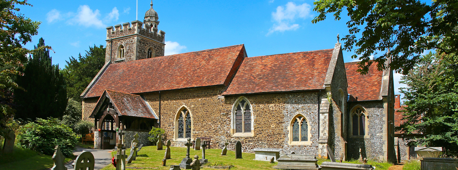 All Saints' is our lovely medieval Church in Binfield
